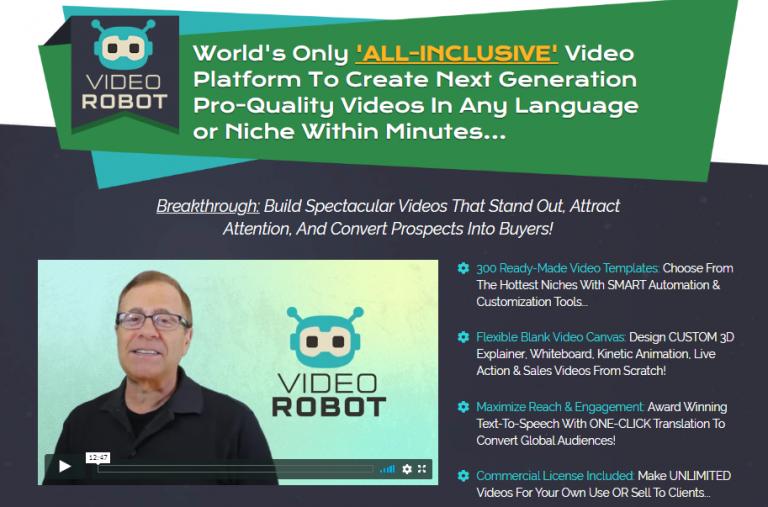 VideoRobot screenshot