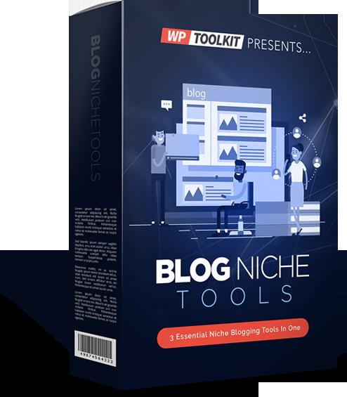 Blog Niche Tools Coupon Code screenshot