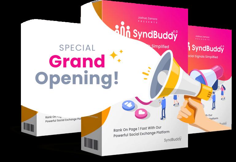 SyndBuddy 2.0 Coupon Code screenshot