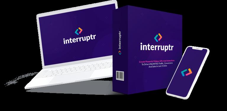 Interruptr Coupon Code screenshot