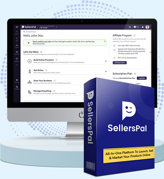 SellersPal Coupon Code screenshot