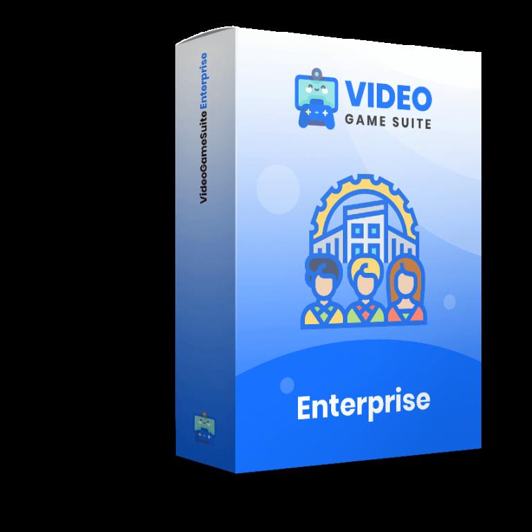 VideoGameSuite Enterprise Coupon Code screenshot
