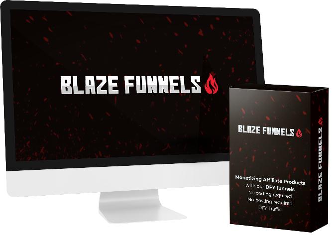 BlazeFunnels Coupon Code screenshot
